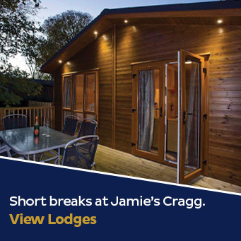 Short breaks at Jamie's Cragg. View Lodges